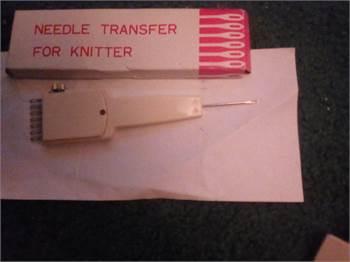 Needle transfer tool