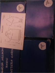 Marion Nelson Basic Pattern Cards